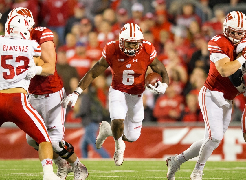 wisconsin football corey clement joins senior bowl rosteroct 29, 2016; madison, wi, usa; wisconsin badgers running back corey