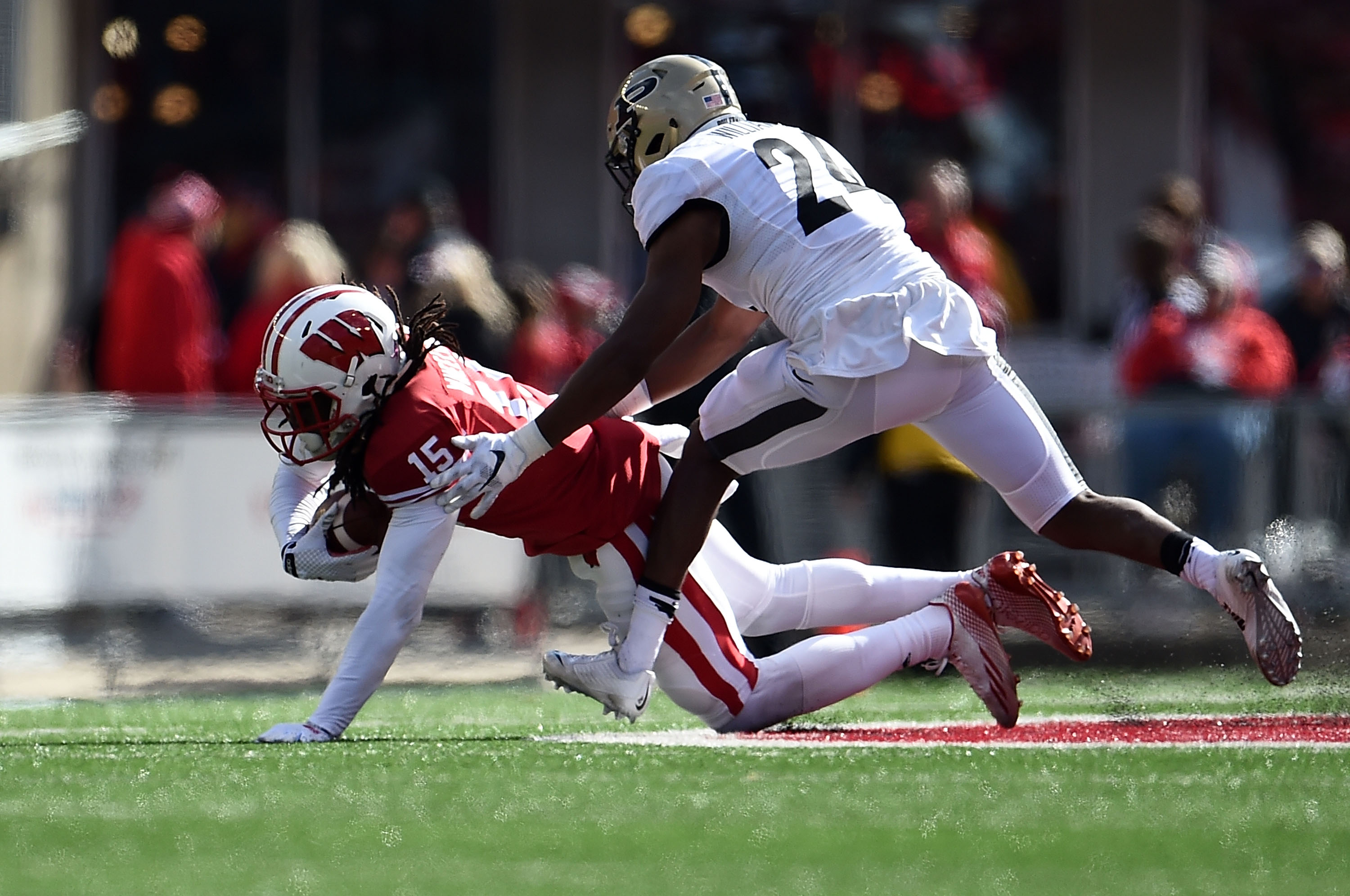 Quick hits from Wisconsin's win over Purdue